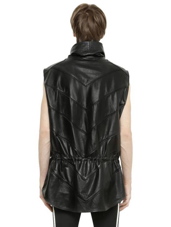 Balmain Balmain Sleeveless Leather Black Authentic $4890 Poncho Size S New Size US M / EU 48-50 / 2 - 2