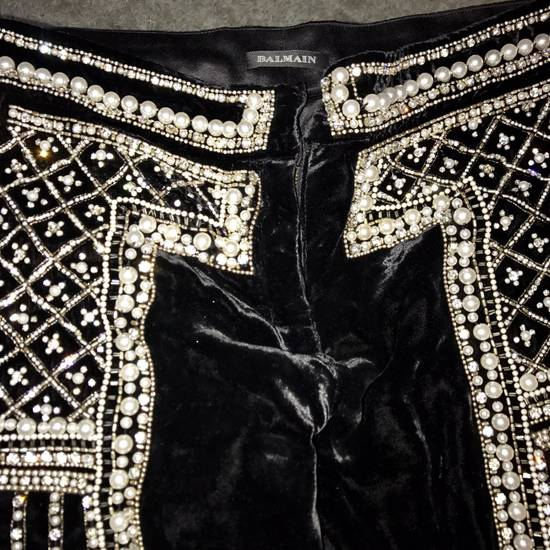 Balmain Balmain Fall 2012 Swarovski Crystal Fabergé Trouser Size US 32 / EU 48 - 12