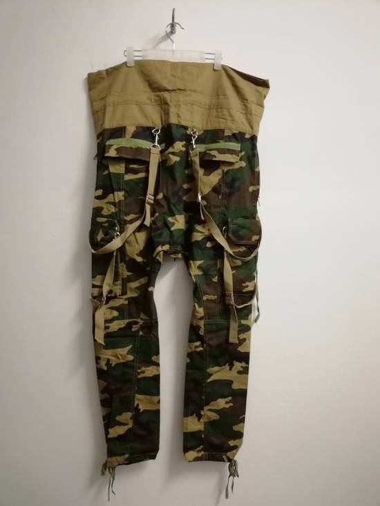 Balmain Balmain Paris Camouflage Resort Collection Low Crotchstyle Buttonfly size L (30-34 waist) with Adjustable Drawstring Size US 34 / EU 50 - 3