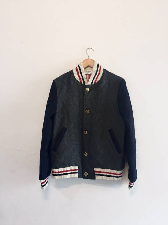 Thom Browne Whales Wool Varsity Jacket Size US M / EU 48-50 / 2
