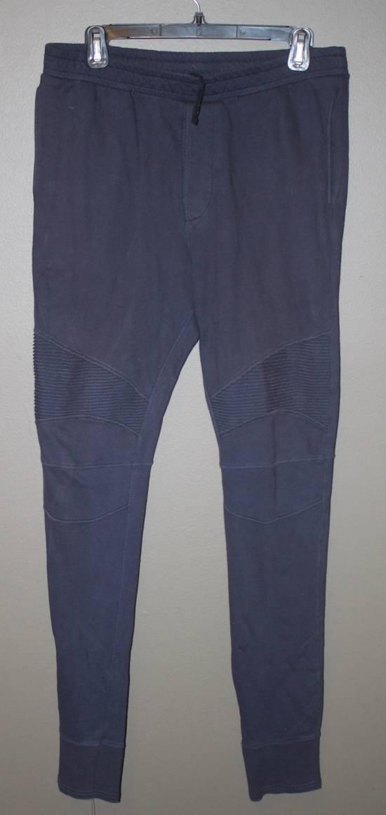 Balmain Navy Blue Balmain Joggers Size US 32 / EU 48