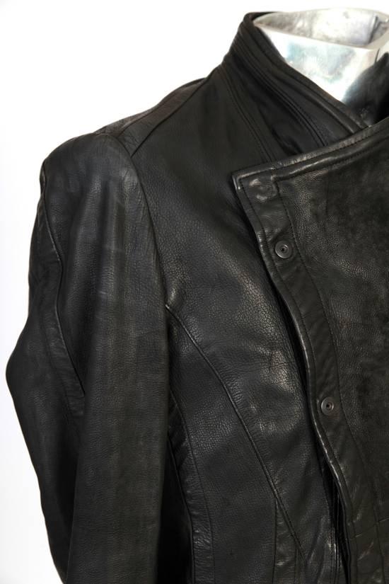 Julius Julius Dove Tail Leather Jacket EU46 Small Size 2 S/S 2012 Size US S / EU 44-46 / 1 - 11