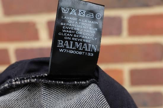 Balmain Black Stonewashed Jeans Size US 30 / EU 46 - 9