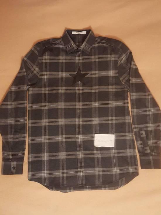 Givenchy Stars printed Cotton-twill shirt Size US S / EU 44-46 / 1 - 1