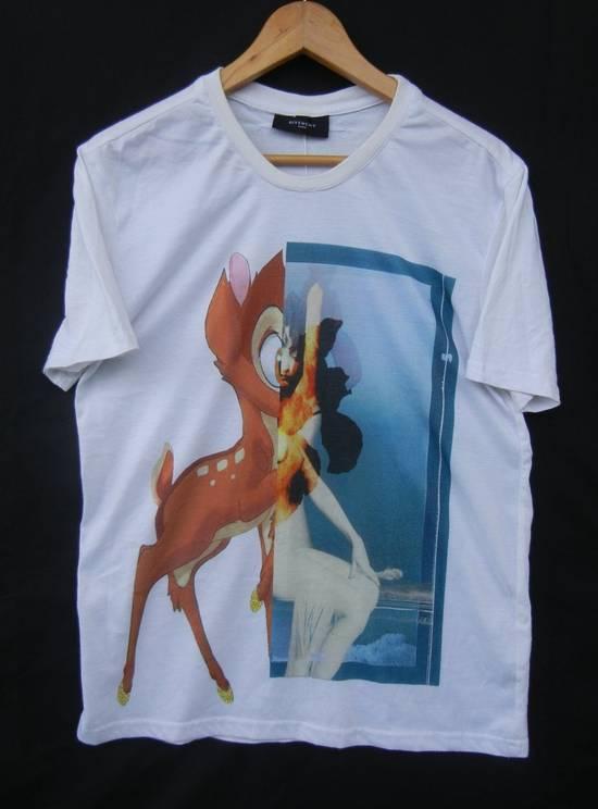 Givenchy Givenchy Bambi Print Rottweiler Stars White Tee Sz Medium Size US M / EU 48-50 / 2 - 1