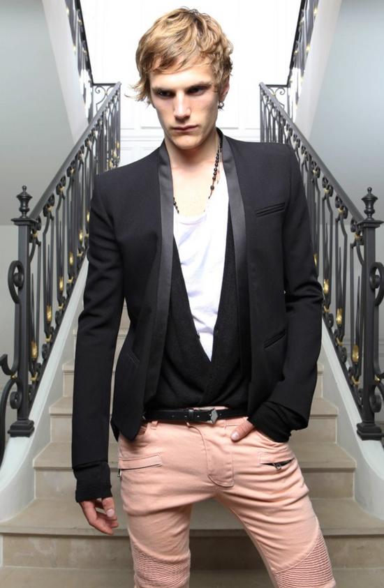 Balmain Black Tuxedo Blazer Size 50S