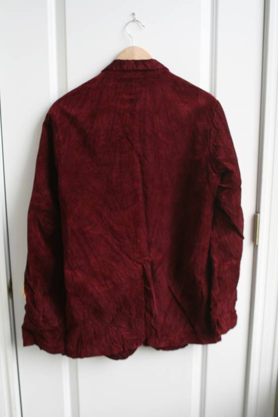 Julius AW03 Blood Red Velvet Blazer Size US M / EU 48-50 / 2 - 3