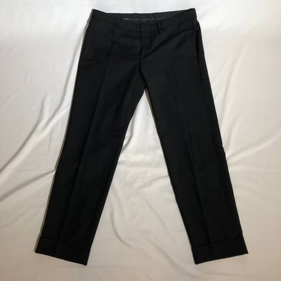 Givenchy Givenchy Cuffed Wool Uniform Pants Size US 36 / EU 52