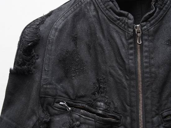 Julius NOS 09 F/W Destroyed Waxed Jacket Size US S / EU 44-46 / 1 - 3