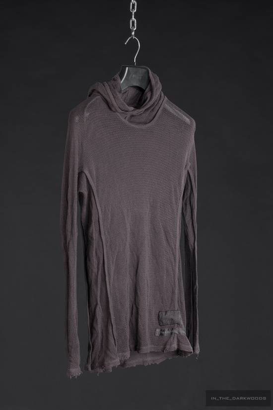 Julius = last drop = 2009SS mesh knit cotton hooded top Size US S / EU 44-46 / 1 - 7