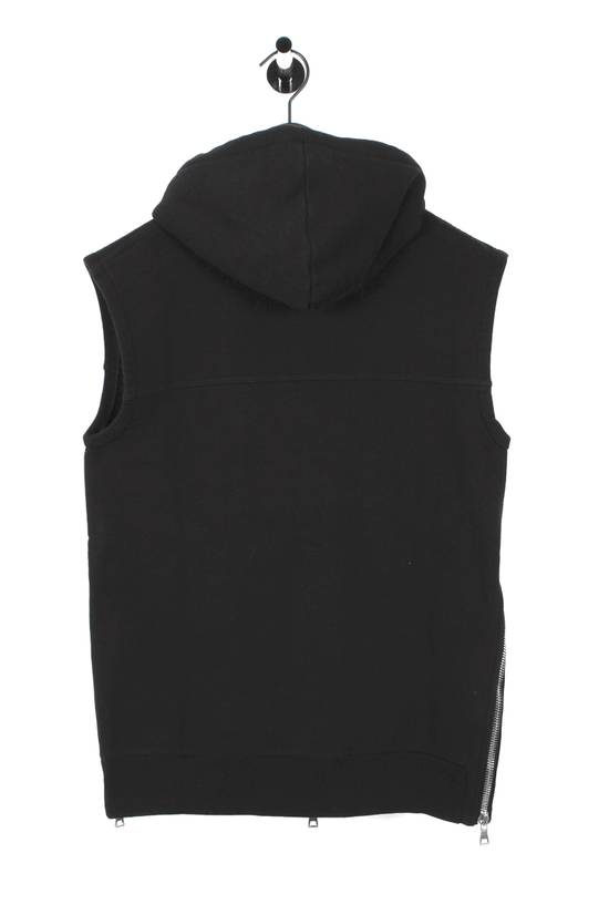 Balmain Original Balmain Hooded Black Men Sleeveless Sweatshirt Top Vest in size M Size US M / EU 48-50 / 2 - 3