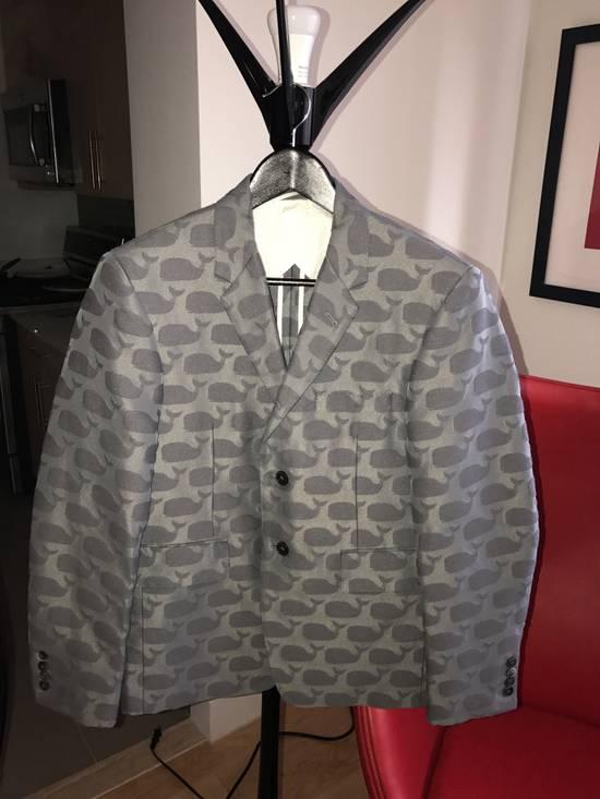Thom Browne Whale Jacquard Jacket Size 2 Size 38S