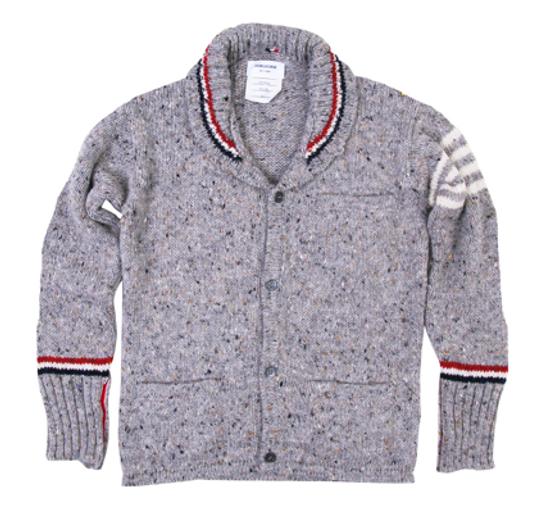 Thom Browne Thom Browne Shawl Collar Cardi - 2 Size US S / EU 44-46 / 1 - 1