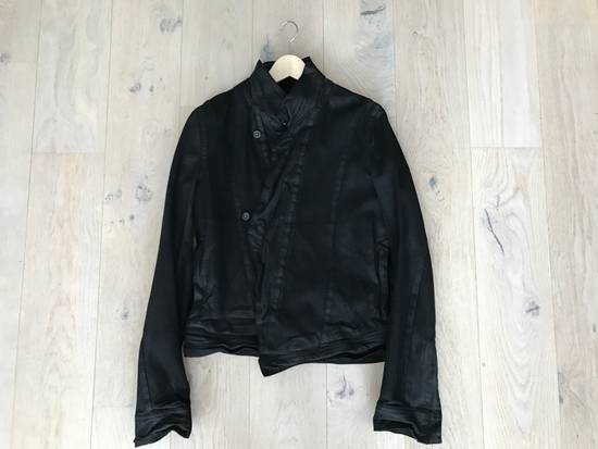Julius SS/16 Black Waxed Denim Jacket Size US M / EU 48-50 / 2 - 2