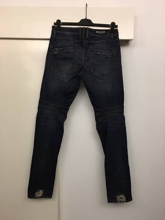 Balmain Biker Jeans Size31 Size US 31 - 3