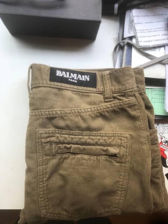 """Balmain """"corduroy biker pant"""" Size US 31 - 2"""