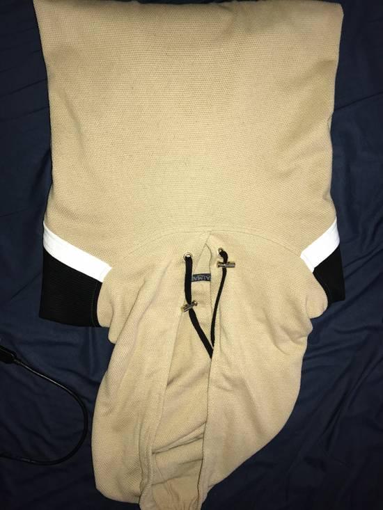 Balmain PANELLED COTTON AND LINEN-BLEND HOODIE Size US XXL / EU 58 / 5 - 1