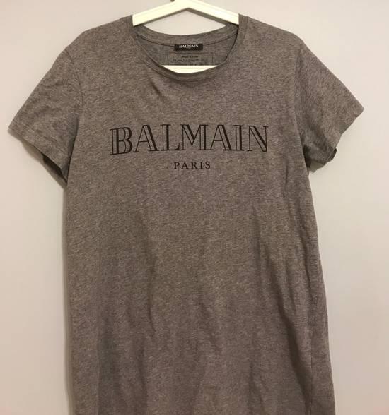 Balmain Balmain Logo Tee Grey Size US M / EU 48-50 / 2