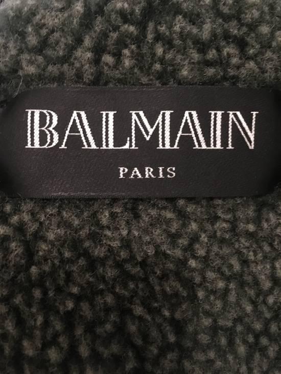 Balmain Shearling Military Coat Size US S / EU 44-46 / 1 - 9
