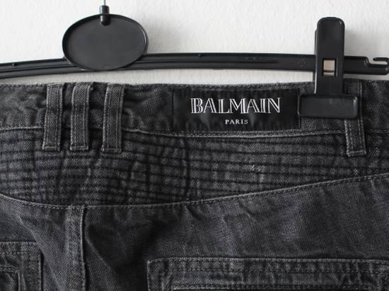 Balmain Skinny Knee Rips Biker Jeans Size US 30 / EU 46 - 1