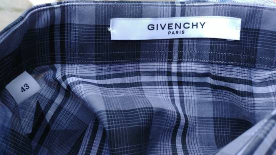Givenchy $520 Givenchy Star Print Checked Rottweiler Shark Slim Fit Men's Shirt size 43 (L / XL) Size US L / EU 52-54 / 3 - 12