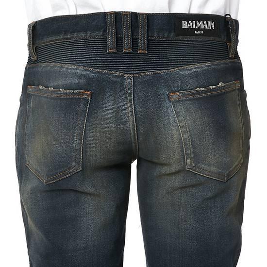Balmain PRICED TO SELL!! Size 30 Blue Biker Jeans Balmain Size US 30 / EU 46 - 12
