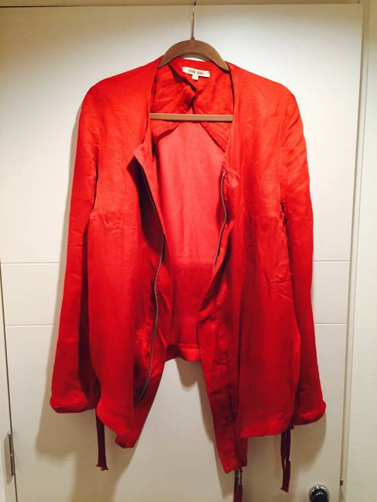 Damir Doma Red Draped Jacket Size 48 Size US M / EU 48-50 / 2 - 2