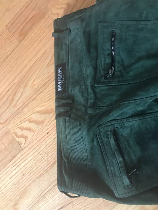 Balmain Balmain leather Suede pant Size US 32 / EU 48 - 3