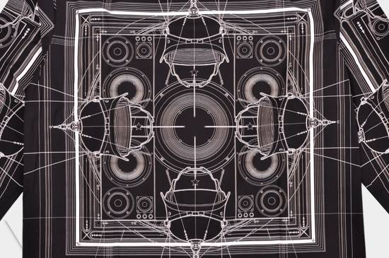 Givenchy 1050$ Black Cotton Geometric Cobra Print Shirt sz 38 Size US S / EU 44-46 / 1 - 3