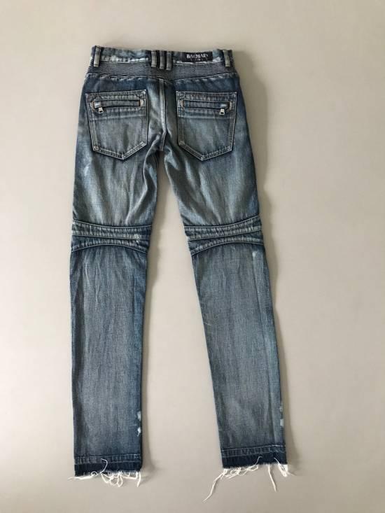 Balmain Balmain Biker Jeans/Size 30 Size US 30 / EU 46 - 1