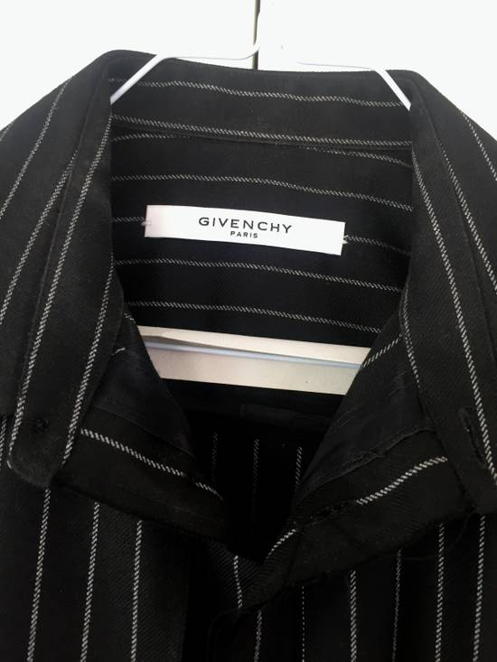 Givenchy Pinstripe used look Shirt by Riccardo Tisci Size US S / EU 44-46 / 1 - 1