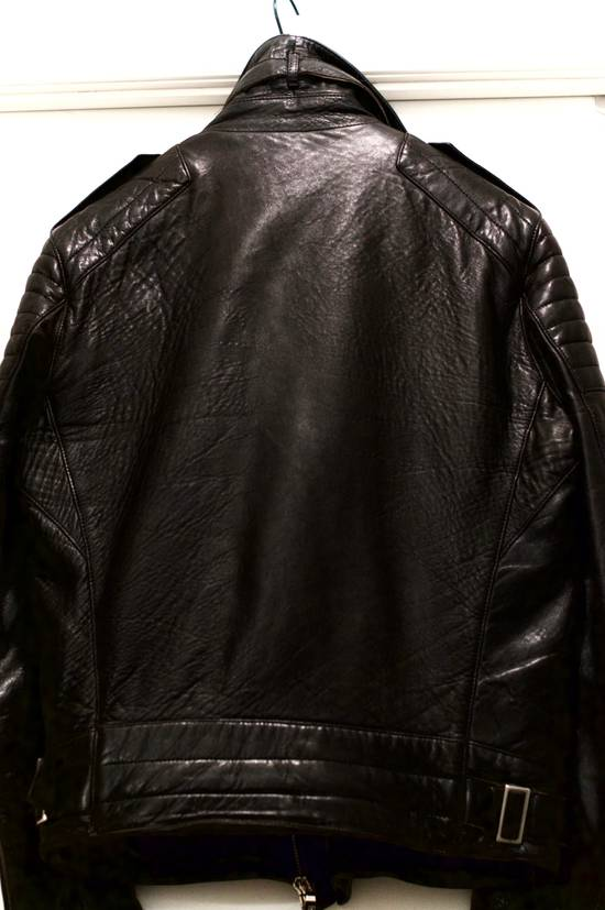 Balmain RARE! Lambskin Leather Biker Jacket Size US L / EU 52-54 / 3 - 1