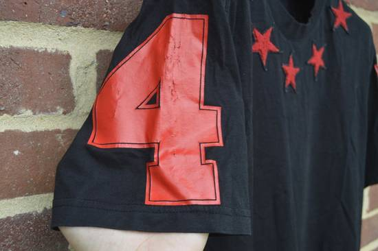 Givenchy Red 5 Star Givenchy T Shirt SS 15 Size US L / EU 52-54 / 3 - 5