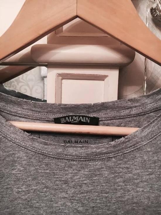 Balmain Balmain Slim Fit Cotton Jersey T-Shirt Size US XL / EU 56 / 4 - 1