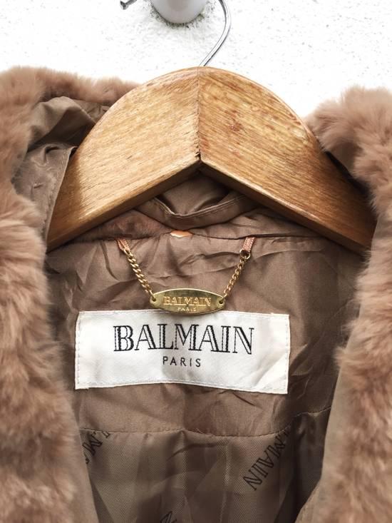Balmain Balmain Paris Authentic Silk Fur Oversized Long Jacket Size US L / EU 52-54 / 3 - 7