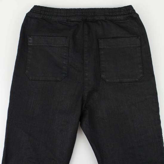 Balmain Black Cotton Blend Waxed Distressed Casual Pants Size Small Size US 32 / EU 48 - 4