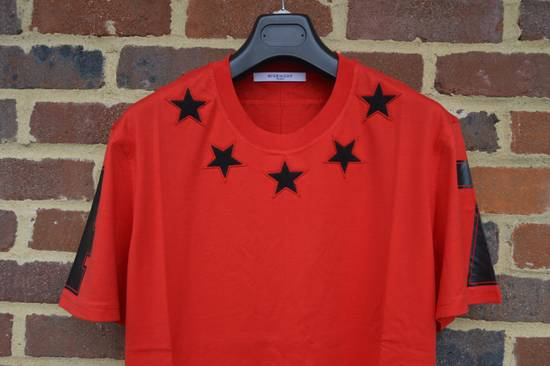 Givenchy Red 5 Stars T-shirt Size US XL / EU 56 / 4 - 3
