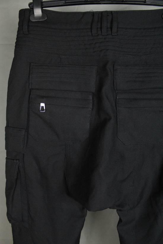Balmain Balmain X H&M Cargo Biker Wool Pants Size EUR30 Size US 30 / EU 46 - 14