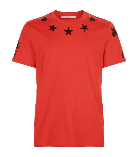 Givenchy Red 5 Stars T-shirt Size US XL / EU 56 / 4 - 1