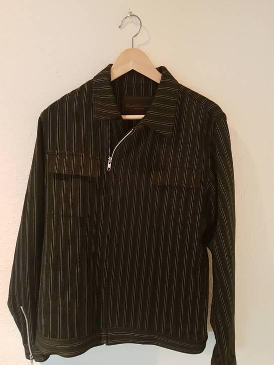 Undercover AW02 Striped Zipper Jacket Size US L / EU 52-54 / 3 - 3
