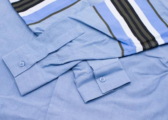 Givenchy Givenchy Mens Denim W/ Stripe Sleeve Button Down Size US S / EU 44-46 / 1 - 2