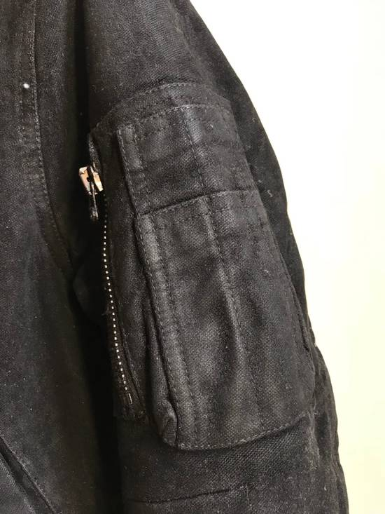 Balmain Decarnin Black Coated Parka Size US M / EU 48-50 / 2 - 2