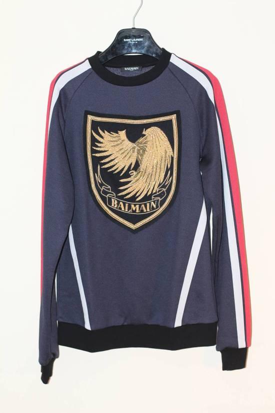 Balmain Embroided Logo Sweater Size US M / EU 48-50 / 2
