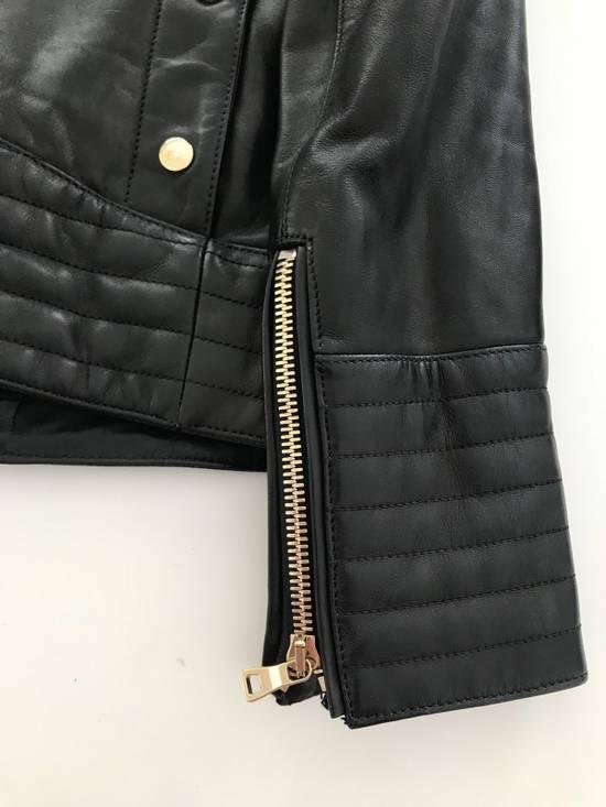 Balmain Balmain Black Leather Jacket Size US M / EU 48-50 / 2 - 4