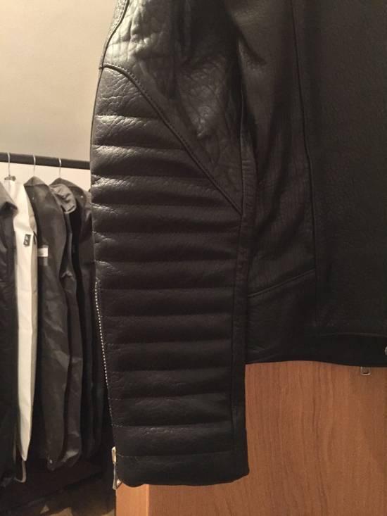 Balmain Leather Biker Jacket Lambskin Original SS12 Brand New Size US M / EU 48-50 / 2 - 7