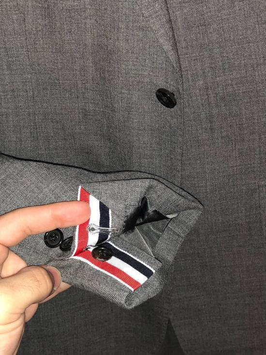 Thom Browne Classic Suit In 2 Ply Fresco Size 40R - 5