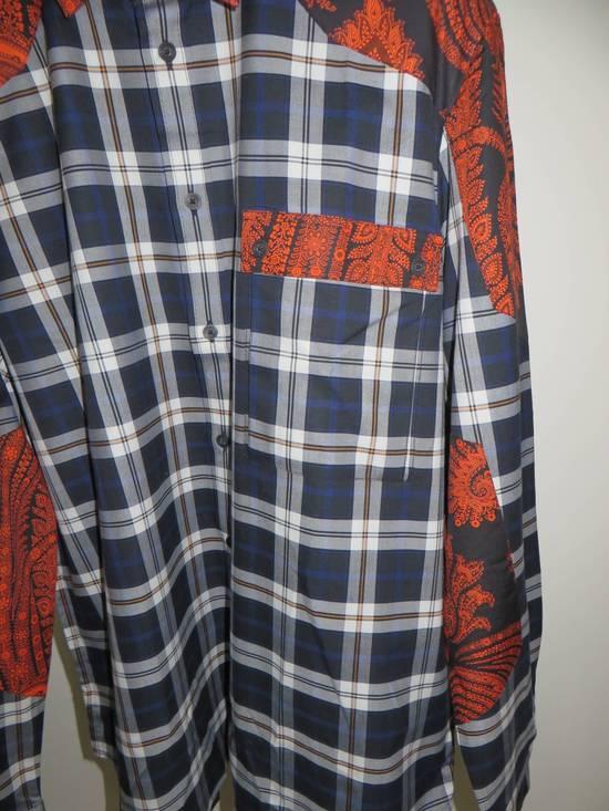 Givenchy Paisley-check print shirt Size US S / EU 44-46 / 1 - 6