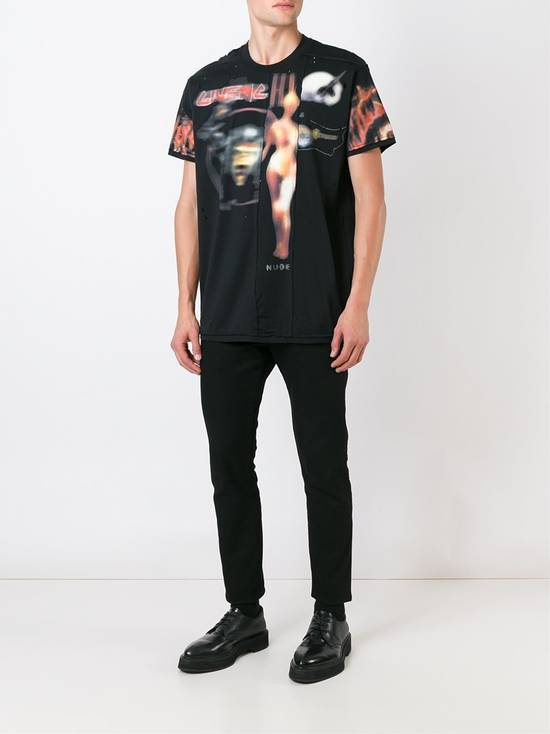 Givenchy Heavy Metal Distressed T-shirt Size US XL / EU 56 / 4 - 2