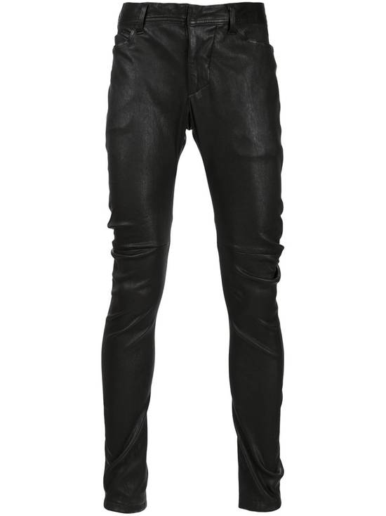 Julius Deerskin Leather Biker Pants Size US 30 / EU 46 - 1