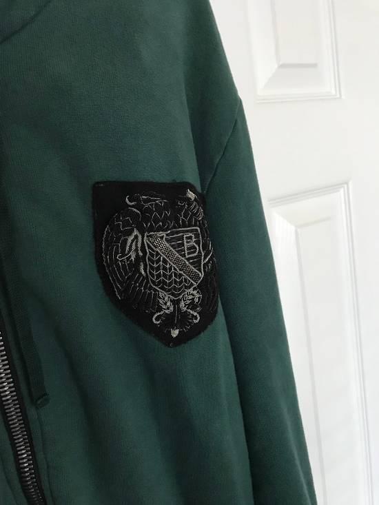 Balmain Embroidered Crest Side Zip Hoodie Size US L / EU 52-54 / 3 - 4